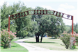 Pecan Creek Park arch way